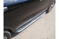 Пороги алюминиевые Kia Sorento Prime