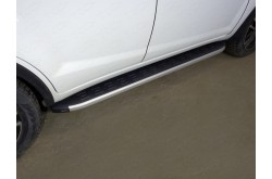 Пороги алюминиевые Lifan X60