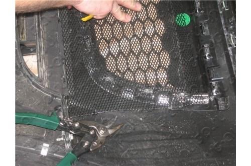 Сетка в бампер Peugeot 4008 с установкой