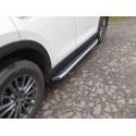 Пороги алюминиевые Mazda CX-5 2017