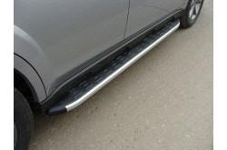 Пороги алюминиевые Mazda CX-7