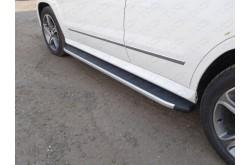 Пороги алюминиевые Mercedes GLK
