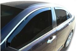 Вставные дефлекторы окон Audi A6 C6 седан