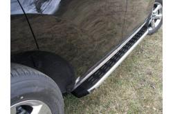 Пороги алюминиевые Nissan Murano рестайлинг