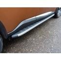 Пороги алюминиевые Nissan Murano Z52