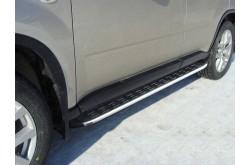 Пороги алюминиевые Nissan X-Trail T31
