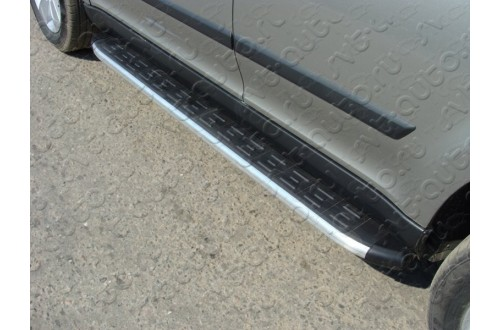Пороги алюминиевые Skoda Yeti