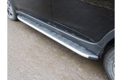 Пороги алюминиевые Subaru XV