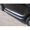 Пороги алюминиевые Suzuki Grand Vitara 2012