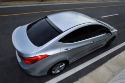 Дефлектор заднего стекла Hyundai Elantra MD