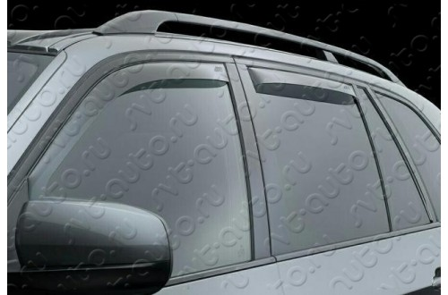 Вставные дефлекторы окон Fiat Stilo универсал