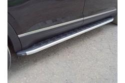 Пороги алюминиевые Volkswagen Teramont