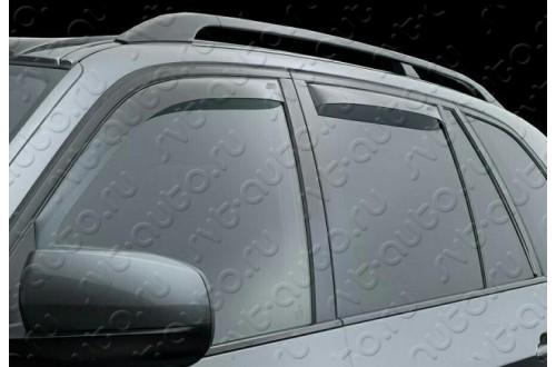 Вставные дефлекторы окон Jeep Grand Cherokee WK