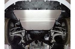 Алюминиевая защита картера Audi A4 2015