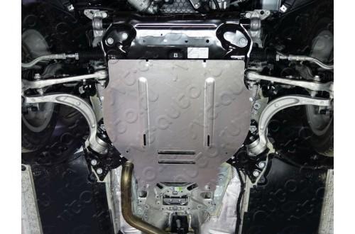 Алюминиевая защита картера и КПП Audi A4 B9