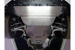 Комплект алюминиевых защит Audi A4 B9