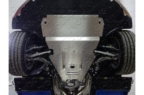 Алюминиевая защита и кпп картера Audi A6