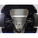 Алюминиевая защита картера и кпп Audi A6