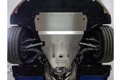 Алюминиевая защита и кпп картера Audi A6 Allroad