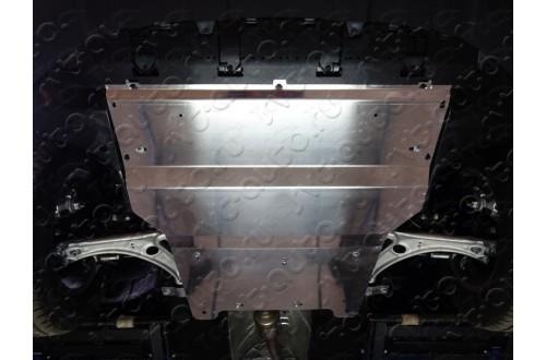 Алюминиевая защита картера и кпп Audi Q3