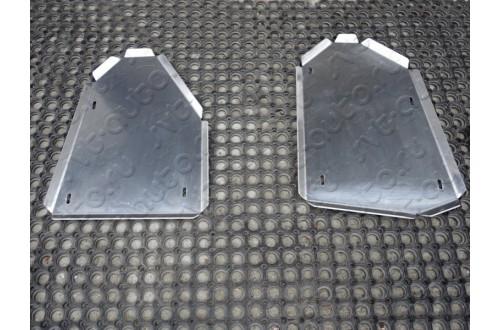 Алюминиевая защита бака левая сторона Audi Q3