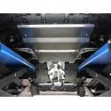 Комплект алюминиевых защит Audi Q3