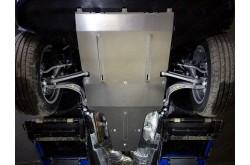 Алюминиевая защита картера Audi Q5 2017