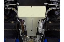 Алюминиевая защита кпп и раздатки Audi Q5 2