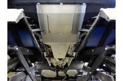 Комплект алюминиевых защит Audi Q5 2