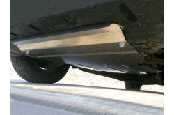 Алюминиевая защита радиатора Audi Q7