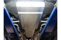 Алюминиевая защита картера Audi Q7