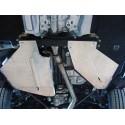 Алюминиевая защита бензобака Audi Q7