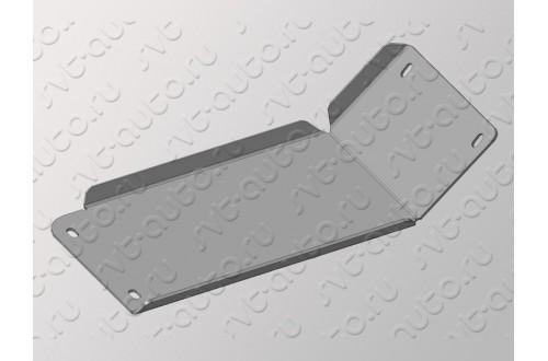 Алюминиевая защита заднего редуктора Audi Q7 2015