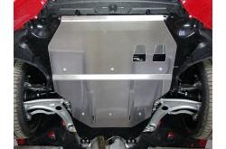 Алюминиевая защита картера и кпп Audi TT