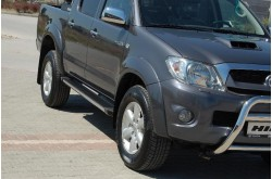 Пороги для Toyota Hilux