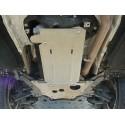 Алюминиевая защита кпп BMW X5 F15