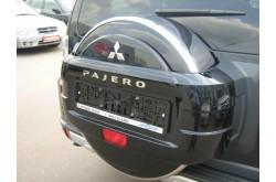 Чехол запасного колеса Mitsubishi Pajero 4