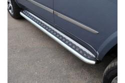 Пороги площадка лист Cadillac Escalade 4