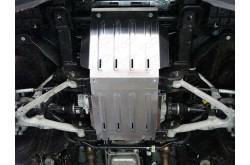 Комплект алюминиевых защит Cadillac Escalade 4