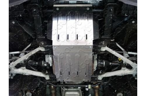 Алюминиевая защита картера Cadillac Escalade 4 Long