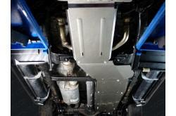 Алюминиевая защита бензобака Cadillac Escalade 4 Long