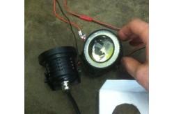 Установка диодных ламп