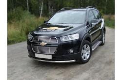Защита переднего бампера Chevrolet Captiva