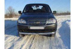 Защита переднего бампера Chevrolet Niva