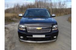 Защита переднего бампера Chevrolet Tahoe