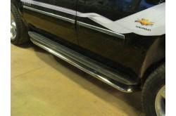 Защита порогов Chevrolet Tahoe 3