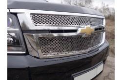 Решетка радиатора Chevrolet Tahoe 4 верхняя