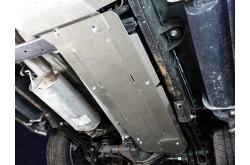 Алюминиевая защита бензобака Chevrolet Tahoe 4