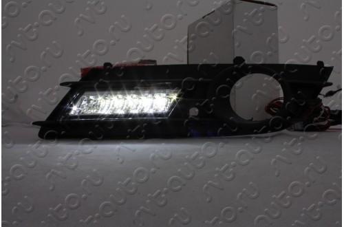 Дневные ходовые огни Opel Astra H