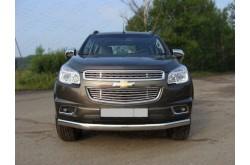 Защита переднего бампера Chevrolet TrailBlazer